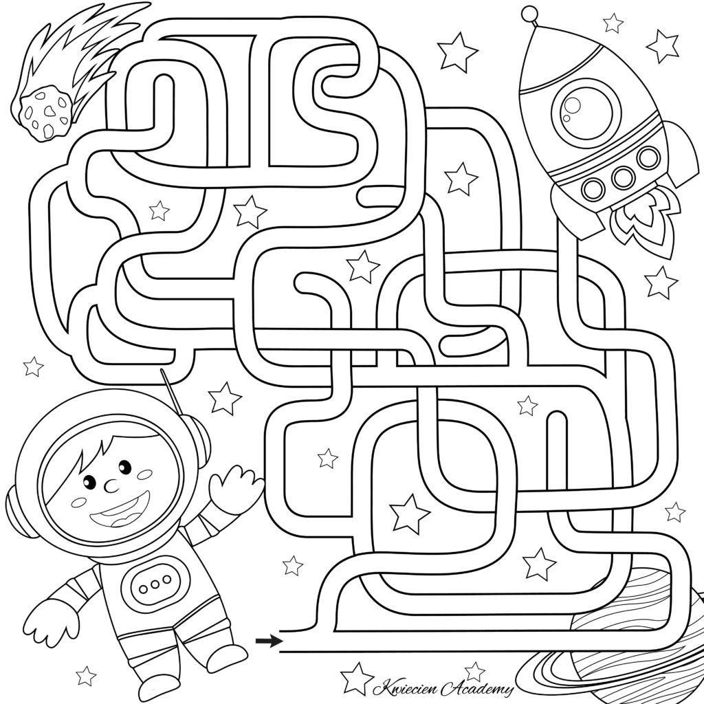 Kosmos karty pracy