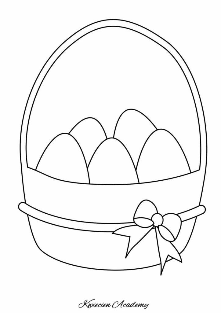 Kolorowanki Wielkanoc