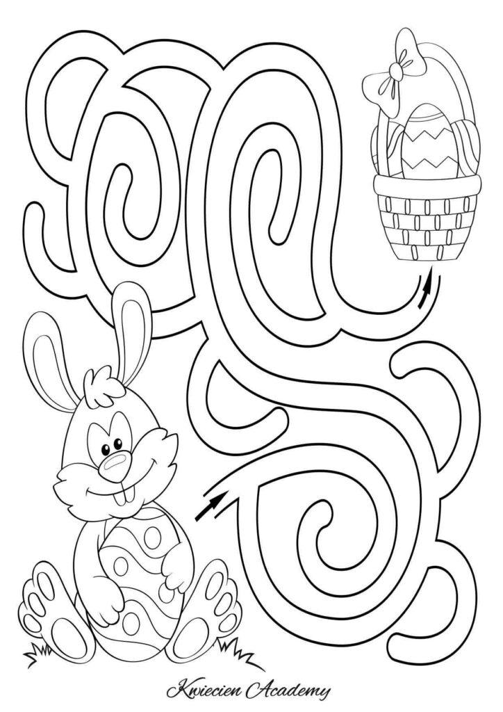 Wielkanocne labirynty
