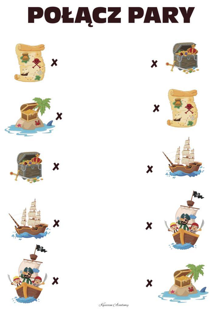 Piraci - karty pracy