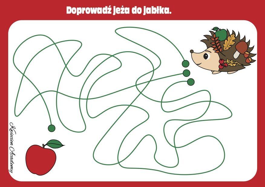 Jabłuszka labirynt