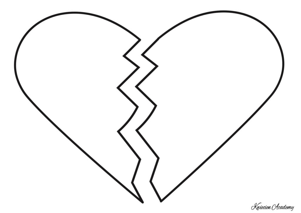 złamane serce do druku