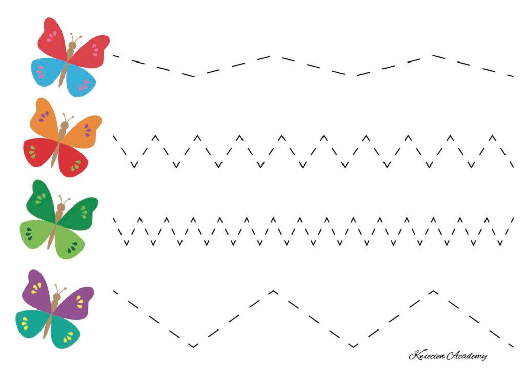 Szlaczki motylki