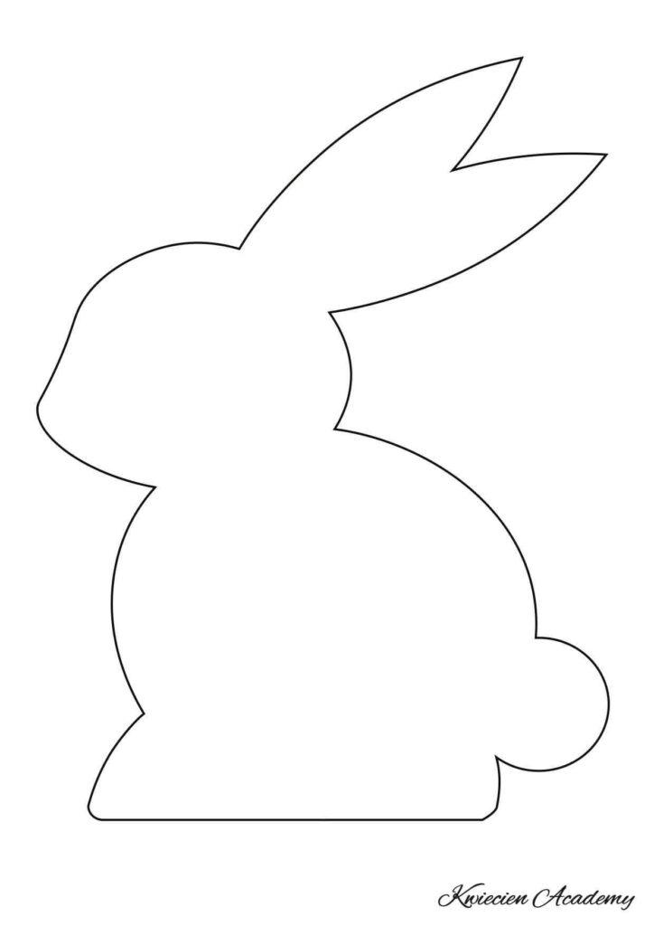 Szablony króliczków do wydrukowania