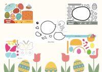 Wielkanocne wycinanki
