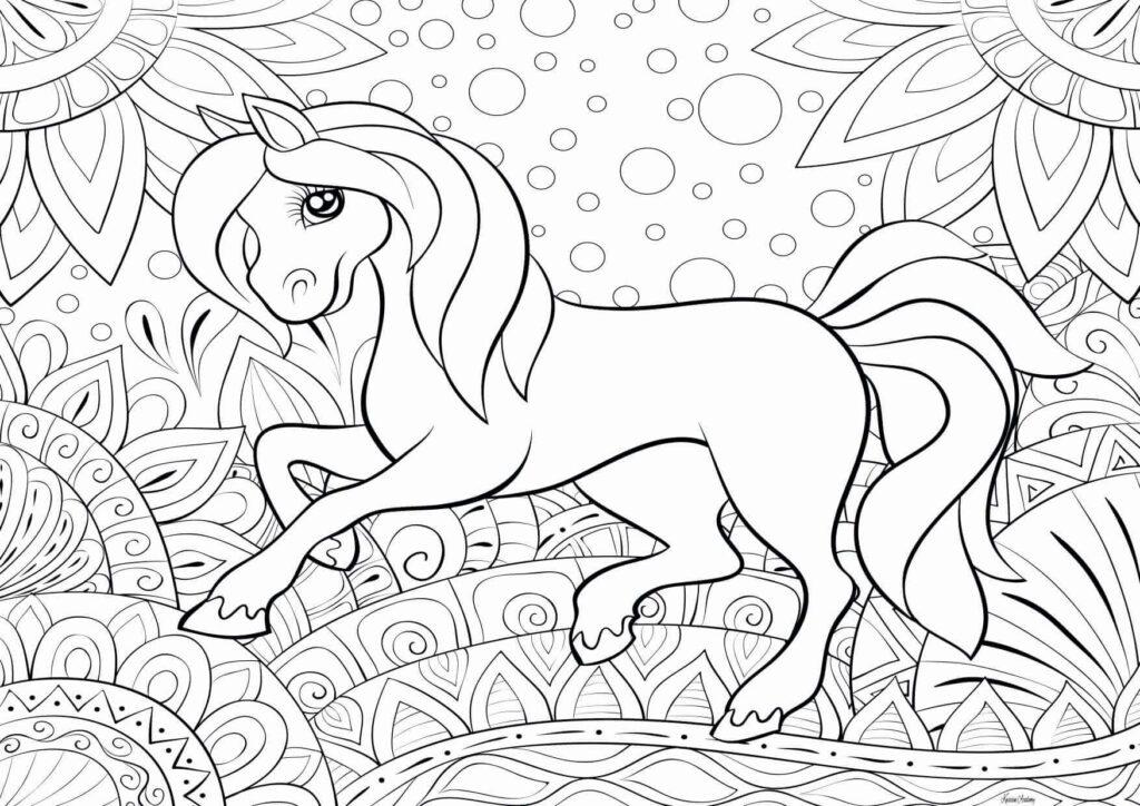 wiejski koń
